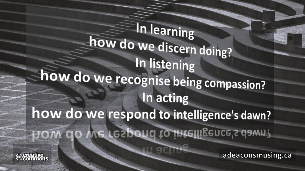 Learning - Listening - Acting
