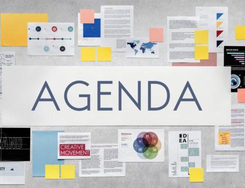 An Agenda|Be Less