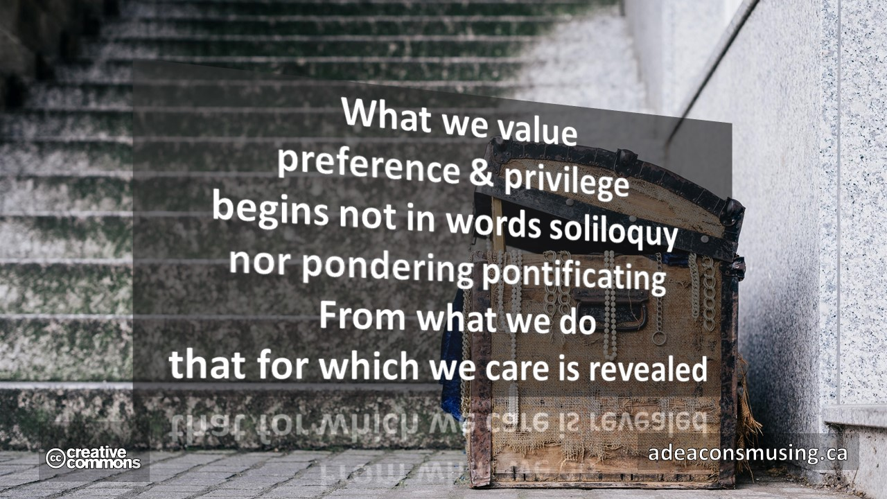 """What We Value"""""""